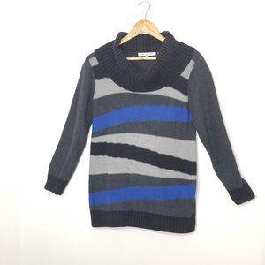 Eight eight eight | Petite Striped Cowl Sweater